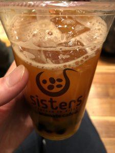 池袋 WACCAにある【sisters】で飲むタピオカうめえええええええ!