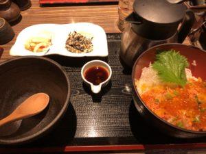 東京にある【茶らく】で夕飯食べた後に丸の内散策するの楽しい!!