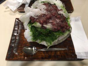 十条にある【だるまや餅菓子店】でかき氷食え!東京は意外とかき氷食える場所多くないからな!