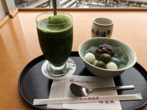 京都にある【茶寮都路里】で旅の疲れを癒す!東京から京都まで遠すぎる!