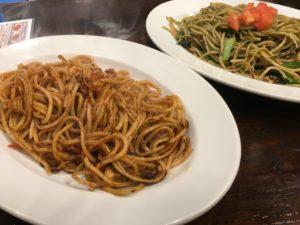 東京にある【焼きスパ ローマ軒】で焼きパスタを頂く!なかなか美味い!