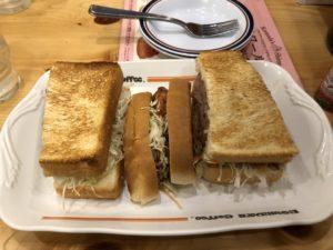 池袋にある【コメダ珈琲店】でサンドイッチ食え!喫茶店チェーンでここよりコスパ良いとこないだろw