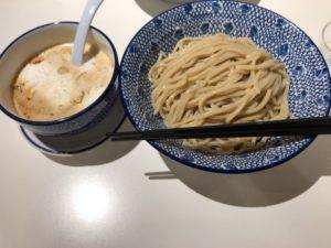 半蔵門にある【麺 TOKITA(ときた)】の海老泡つけ麺が美味すぎ!