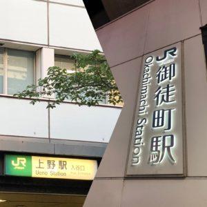 徒歩で山手線一周の旅 part9 上野→御徒町