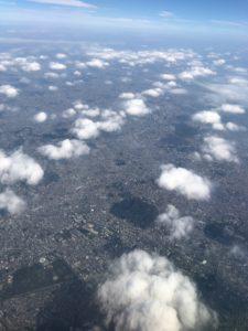 飛行機から見る景色が最高すぎる