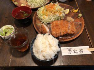 和光市(埼玉県)にある【トンカツ揚ヤ 半仁前】が美味しい!和光市は美味しいお店結構ありますねえ!