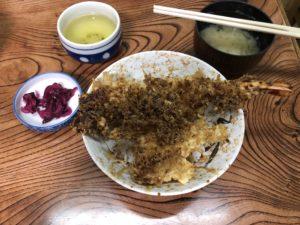 柴又にある【大和家(やまとや)】で食う天丼美味すぎw下町の味って感じっすね~