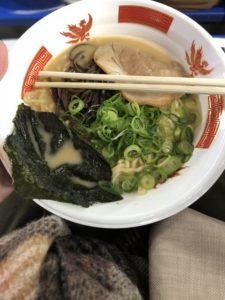 東京ドーム ふるさと祭り東京2020 黒豚飛魚らあめん