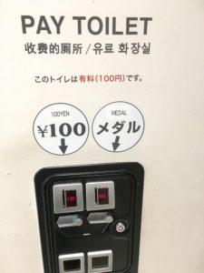 有料トイレってなんなん?トイレくらい無料で使わせてよ〜お金無くて腹壊してる人は絶望するじゃんか〜