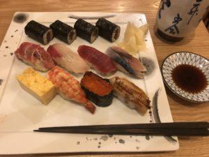 品川にある【築地玉寿司】の寿司美味え。さすが品川だわ。