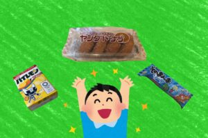 社会人が駄菓子屋で豪遊した結果(予算500円)